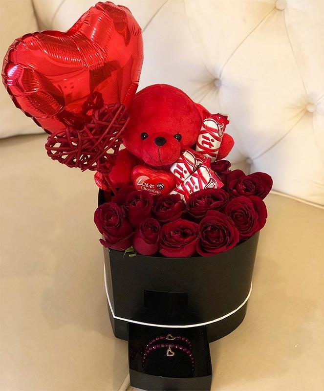 باکس گل و خرس