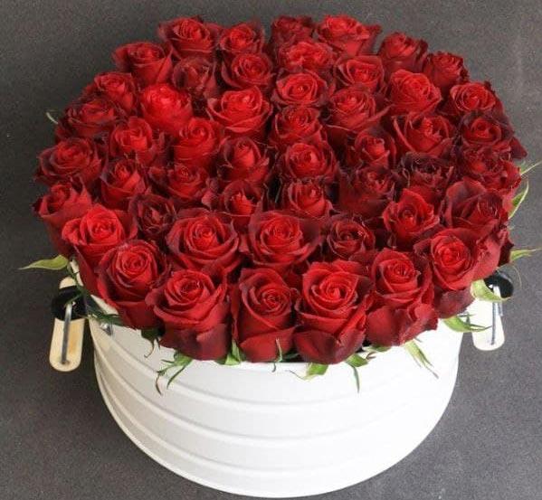 باکس فلزی گل رز