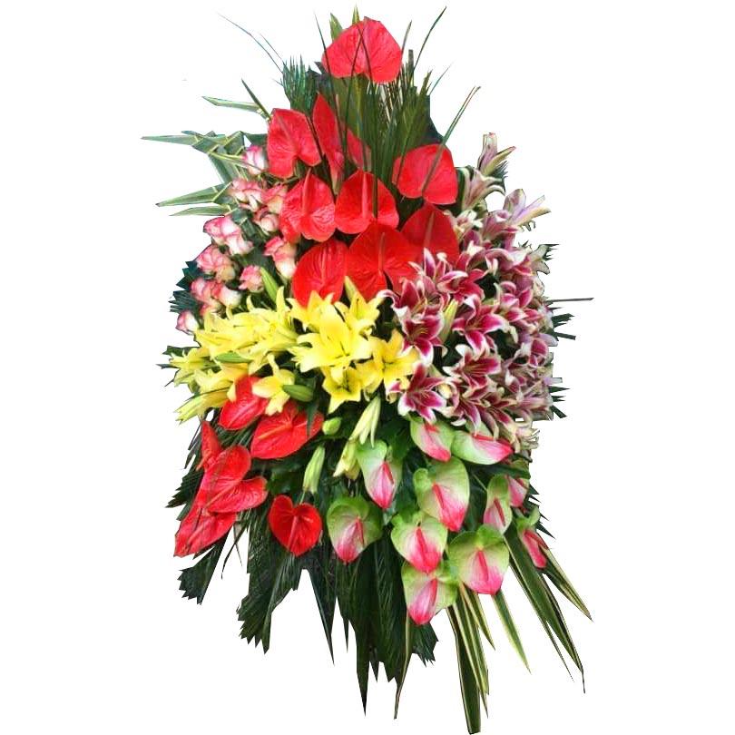 تاج گل افتتاحیه پایه فر فوژه