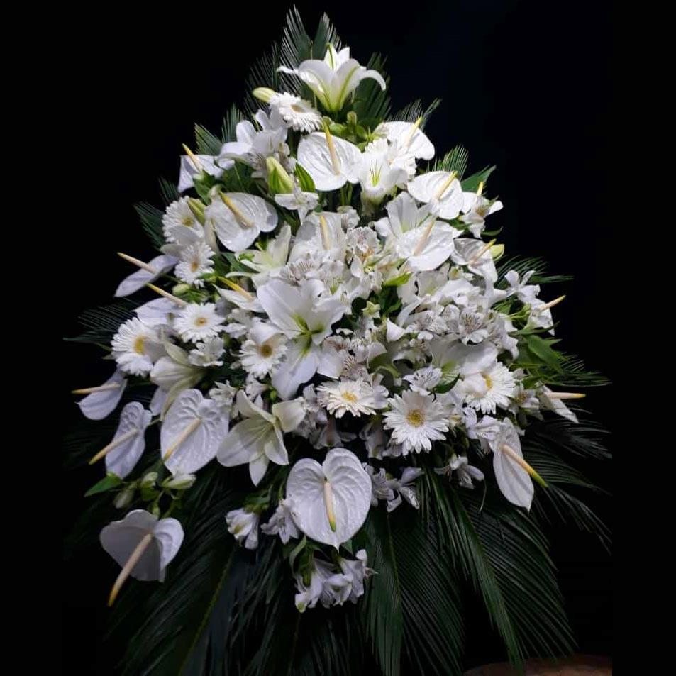 تاج گل ترحیم بهشت زهرا شیک
