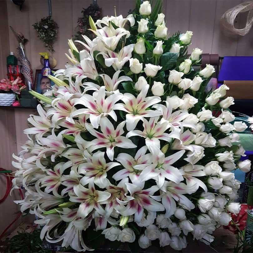 تاج گل مراسم ارزان