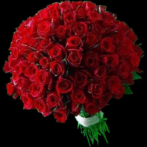 دسته گل رز قرمز خاص و لاکچری
