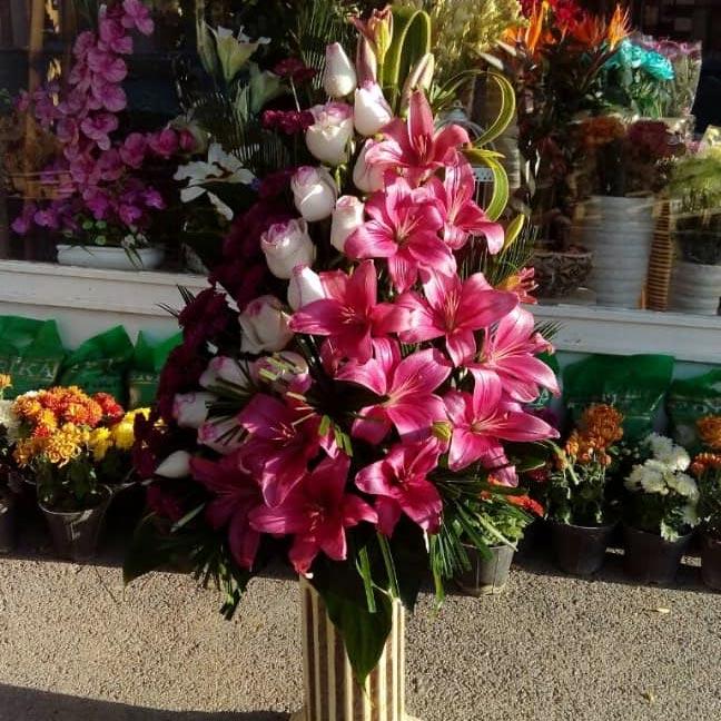 دسته گل فانتزی طبیعی برای تبریک